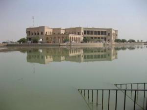 Saddamin metsästyspalatsi Baghdadissa